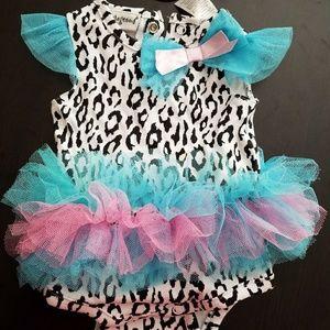 Other - Sale! Newborn Swim Suit Baby Girl Tutu Ballerina